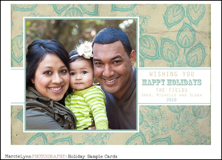 Holiday sample card 2010