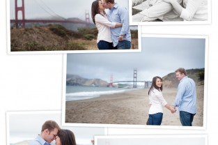 San Francisco Engagement Session - Golden Gate Bridge