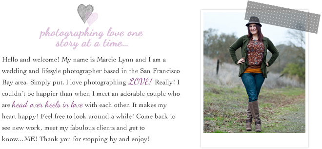 Marcie Lynn Photography – San  Francisco Bay Area Photographer bio picture